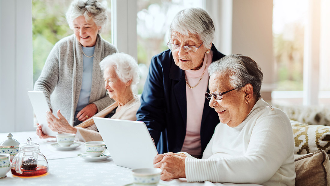 Telemonitoraggio in strutture residenziali per anziani
